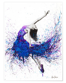 Premiumposter  Evening sky dancer - Ashvin Harrison