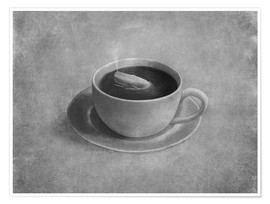 Premiumposter Whale in a teacup
