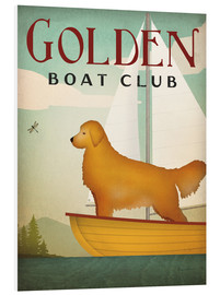 PVC-tavla  Golden Boat Club - Ryan Fowler
