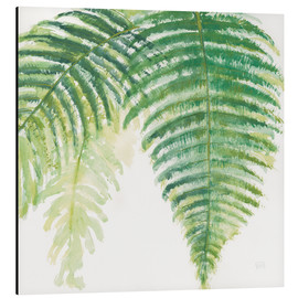 Aluminiumtavla  Fern leaves III - Chris Paschke