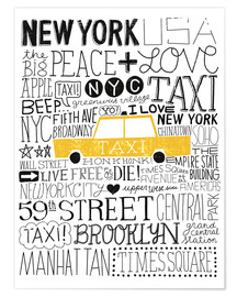 Poster  Typically NYC III - Michael Mullan