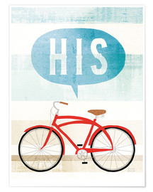 Premiumposter His bike II
