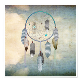 Premiumposter  dream catcher - Brenda Erickson
