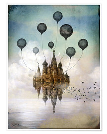 Premiumposter  Travel to the east - Catrin Welz-Stein
