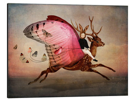 Aluminiumtavla  Enjoy the ride - Catrin Welz-Stein