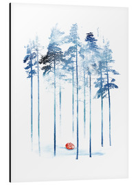 Aluminiumtavla  Sleeping in the woods - Robert Farkas