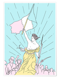 Premiumposter Liberty Leading the People