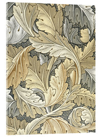 Akrylglastavla  Acanthus - William Morris