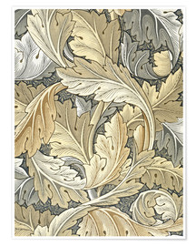 Poster  Acanthus - William Morris