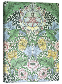 Canvastavla  Myrtle - William Morris