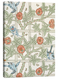 Canvastavla  trellis - William Morris