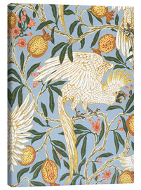 Canvastavla  Cockatoo and Pomegranate - Walter Crane