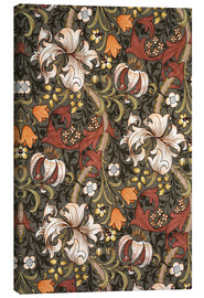 Canvastavla  Golden Lily - William Morris