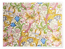 Premiumposter  Golden lily - William Morris