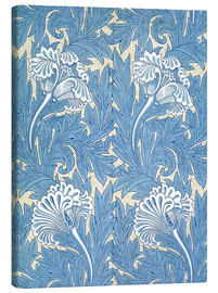 Canvastavla  Tulips - William Morris