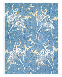 Premiumposter  Tulips - William Morris