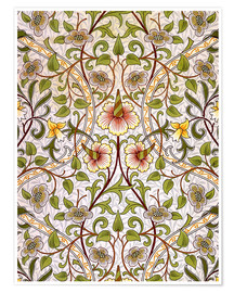 Premium poster  Daffodil - William Morris