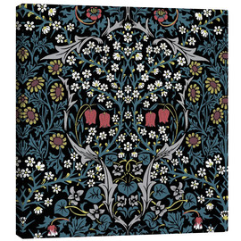 Canvastavla  Blackthorn - William Morris
