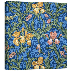 Canvastavla  Iris - William Morris