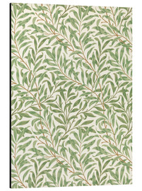 Aluminiumtavla  Willow - William Morris