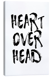 Canvastavla  heart over head - Ohkimiko