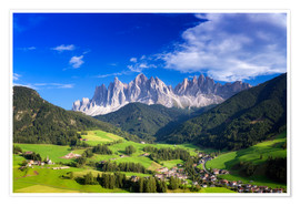 Premiumposter Summer in south Tyrol