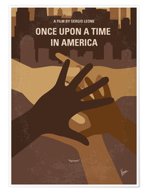 Poster No942 My Once Upon a Time in America minimal movie poster