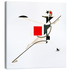Canvastavla  New Man - El Lissitzky