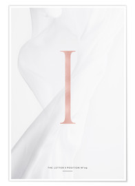 Premiumposter ROSEGOLD LETTER COLLECTION I