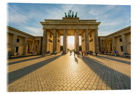 Akrylglastavla  Brandenburg Gate and Pariser Platz - Westend61