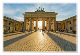 Premiumposter  Brandenburg Gate and Pariser Platz - Westend61