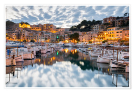 Premiumposter Port of Soller