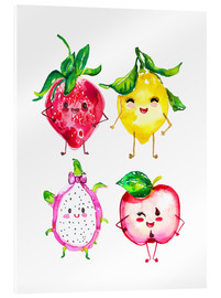 Akrylglastavla  Naughty fruits - Ikon Images