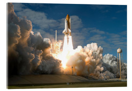 Akrylglastavla  Space shuttle Atlantis lifts off - Stocktrek Images