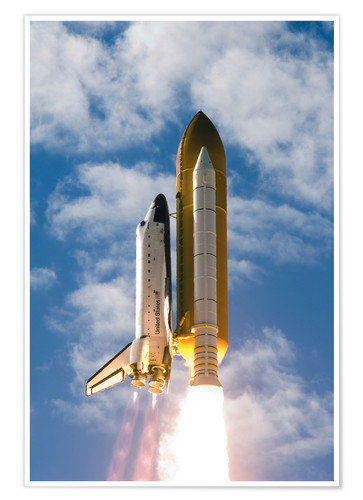 Premiumposter Space Shuttle Atlantis
