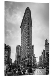 Akrylglastavla  Flatiron building in New York City - Axiom RF