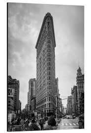 Aluminiumtavla  Flatiron building in New York City - Axiom RF