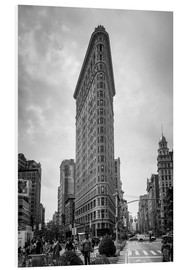 PVC-tavla  Flatiron building in New York City - Axiom RF