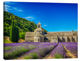 Canvastavla  Monastery with lavender field - Terry Eggers