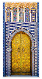 Premiumposter  Decorated door of the royal palace - Brenda Tharp