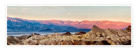 Premiumposter  Moon over the Death Valley - Ann Collins