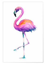 Premiumposter  Flamingo 2 - Miss Coopers Lounge