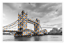Premiumposter  Tower Bridge Colour Pop