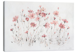 Canvastavla  Wildflowers in pink - Lisa Audit
