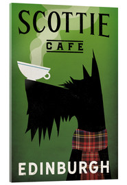 Akrylglastavla  Scottie Cafe - Ryan Fowler