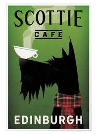 Premiumposter  Scottie Cafe - Ryan Fowler