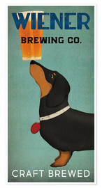 Premiumposter  Wiener Brewing Co - Ryan Fowler