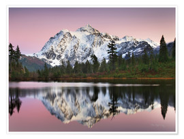 Premiumposter Mount Shukan Reflection II