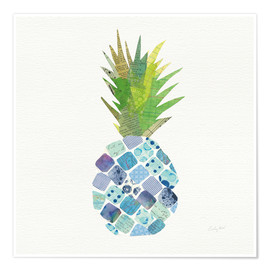 Premiumposter  Tropical Pineapple II - Courtney Prahl