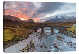 Canvastavla  Sgurr nan Gillean in the Cuillin mountains - Andrew Sproule